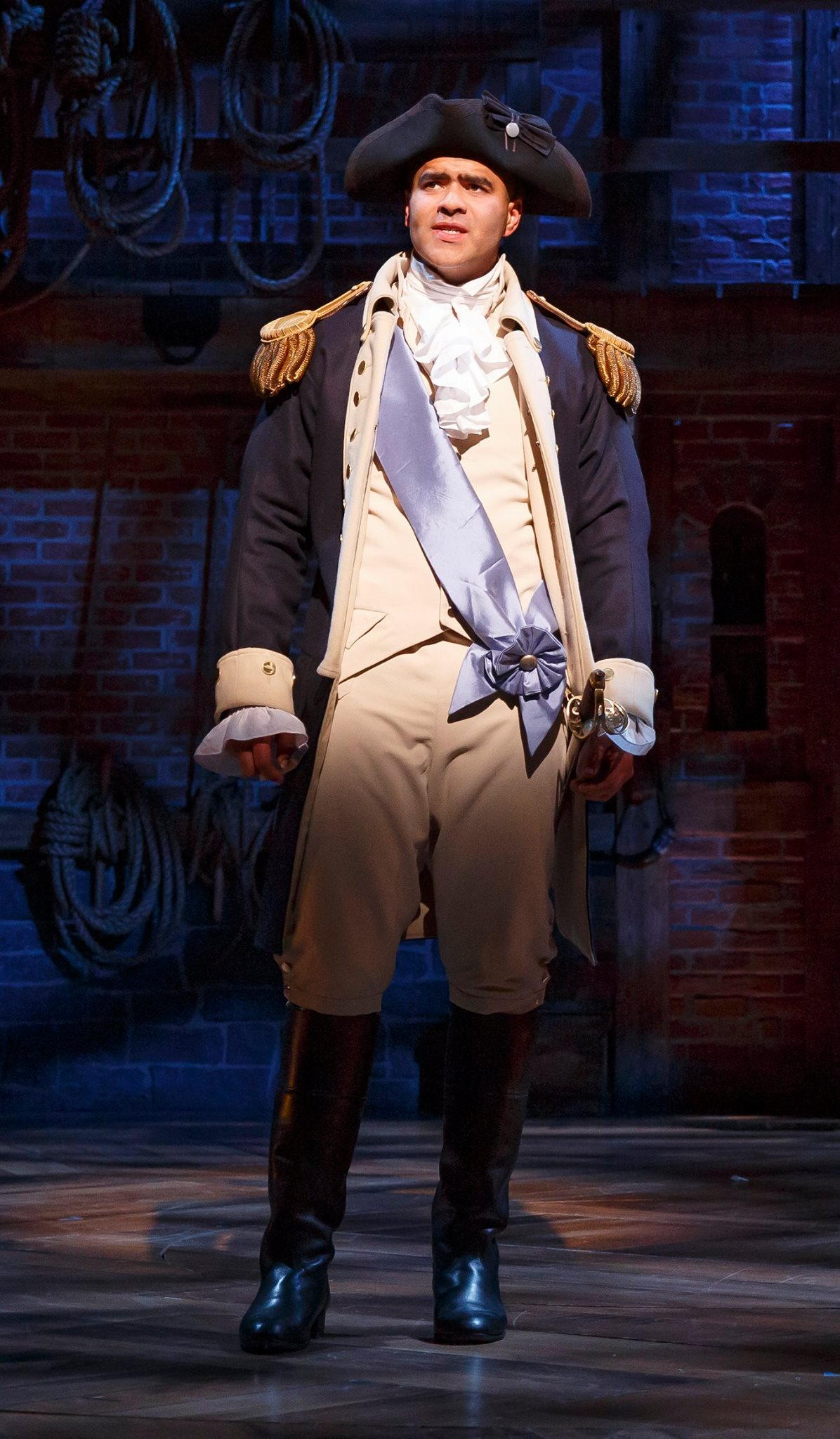 a critique of hamilton a musical by lin manuel miranda This new hip hop-infused musical by 'in the heights' composer-star lin-manuel miranda depicts the sprawling life of founding father alexander hamilton.