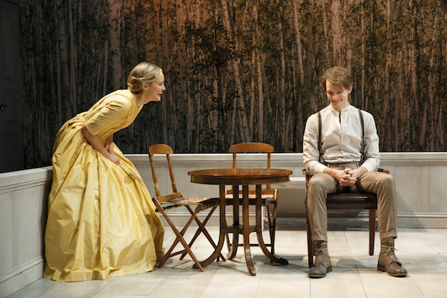 A Month in the Country 2 Taylor Schilling and Mike Faist.  Photo by Joan Marcus