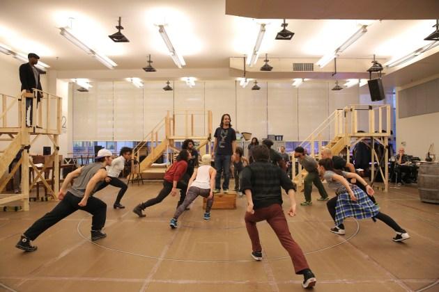 Hamilton rehearsal