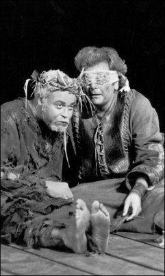 King Lear in Central Park, with Paul Sorvino, 1973