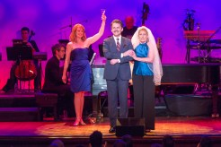 Kate Baldwin, Jason Danieley and Liz Callaway in Getting Married Today from Company