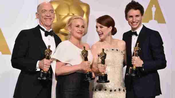 2015 Oscar winners