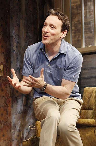 Jeremy Shamos as Steve in Clybourne Park