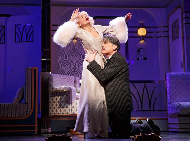 Kristin Chenoweth and Peter Gallagher in On The Twentieth Century