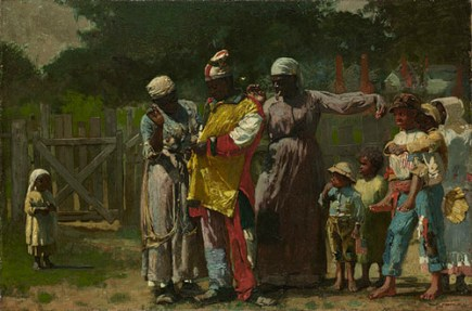 7. Dressing for the Carnival, by Winslow Homer (1877)