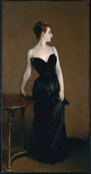 4. Madame X (Madame Pierre Gautreau) by John Singer Sargent (1883-1884)