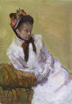 8. Portrait of the Artist by Mary Cassatt (1878)