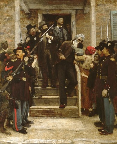 9. The Last Moments of John Brown, by Thomas Hovenden (1882-84)