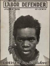 J. Louis Engdahl Labor Defender June 1931 Lithograph on paper - magazine CASE(2/4): 12 1/8 x 9 1/8 in. JJ_60D_4765