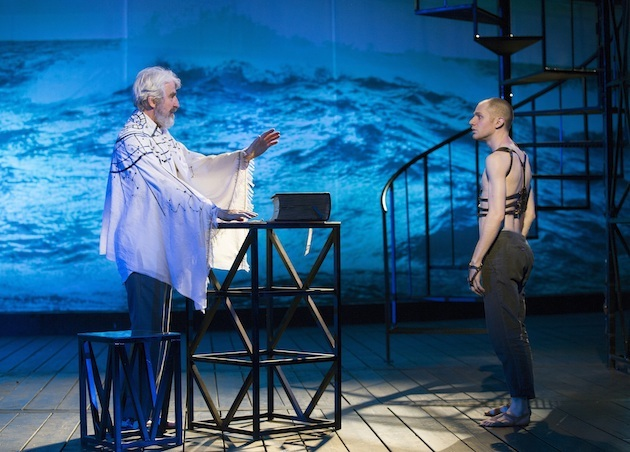 THE TEMPEST By William Shakespeare Directed by Michael Greif Sam Waterston and Louis Cancelmi