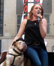 Jessica Keenan Wynn of Beautiful, sings to Romeo