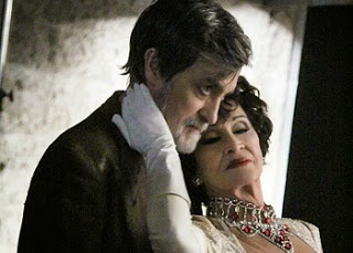 Roger Rees with Chita Rivera in The Visit