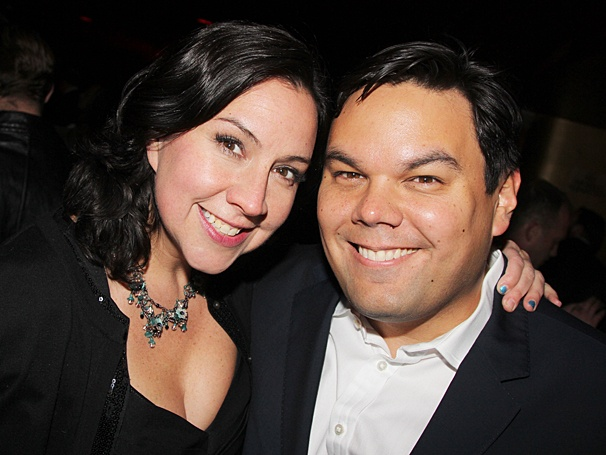 Kristen Anderson Lopez and Bobby Lopez