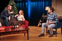 : Nick Westrate (Nate), Miriam Silverman (Sarah) & Matt Dellapina (Sam)