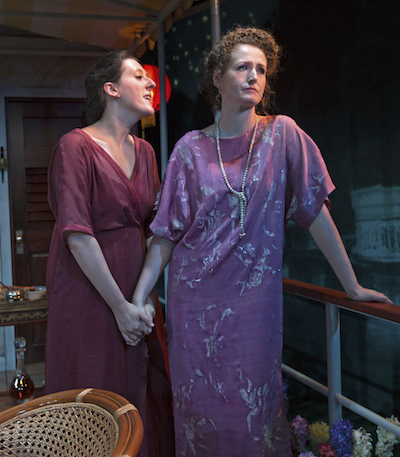 Clemmie Evans and Brenda Meaney in The New Morality Photo Richard Termine