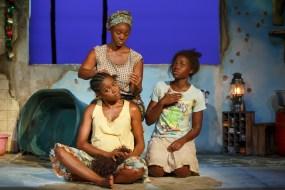 Pascale Armand, Saycon Sengbloh, and Lupita Nyong'o