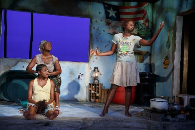 ◀▶X Pascale Armand, Saycon Sengbloh, and Lupita Nyong'o