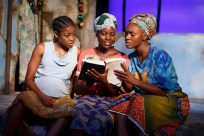 Pascale Armand, Lupita Nyong'o, and Saycon Sengbloh in Eclipsed