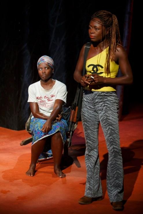 Lupita Nyong'o and Zainab Jah