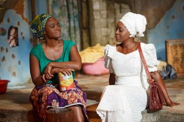 Saycon Sengbloh and Akosua Busia