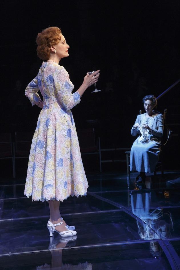 "Barbara Walsh as Pat Nixon and Theresa McCarthy as Hannah Nixon (her mother-in-law) in ""Happy Pat"" in First Daughter Suite"