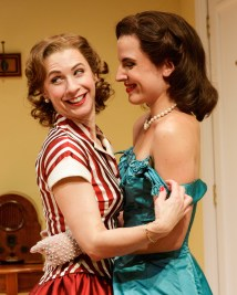 Julia Coffey and Mikaela Feely-Lehman as lovers