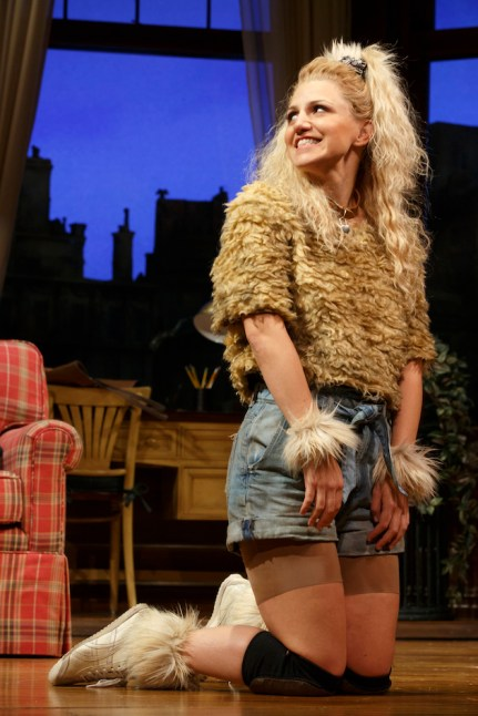 Annaleigh Ashford as a dog