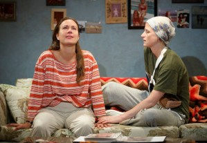 Karron Graves and Mamie Gummer as sisters