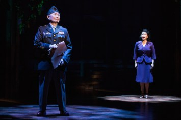 George Takei and Lea Salonga