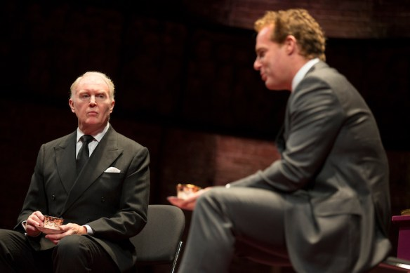 Tim Pigott-Smith as King Charles and Adam James as Prime Minister Evans
