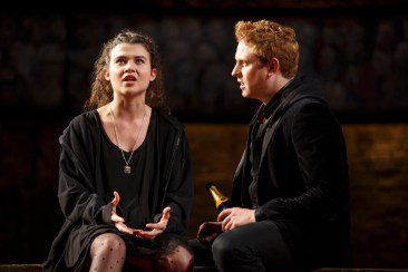 Tafline Steen as Jess, the commoner that Prince Harry (Richard Goulding) falls for