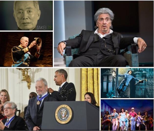 November 2015 Theater Quiz collage