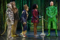 THE WIZ LIVE! -- Pictured: (l-r) Ne-Yo as Tin-Man, David Alan Grier as Lion, Elijah Kelley as Scarecrow, Shanice WIlliams as Dorothy, Common as The Bouncer -- (Photo by: Virginia Sherwood/NBC)
