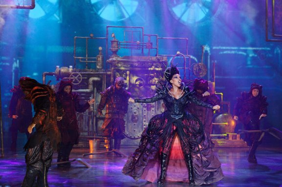 THE WIZ LIVE! -- Pictured: Mary J Blige as Evillene -- (Photo by: Virginia Sherwood/NBC)