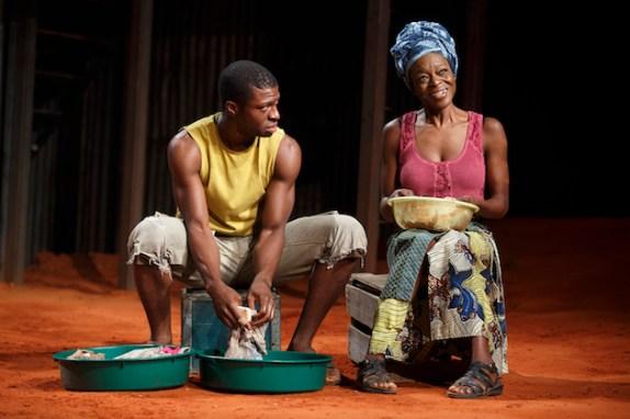 Michael Luwoye and Adeola Role