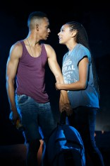 Griffin Matthews and Nicolette Robinson in Invisible Thread