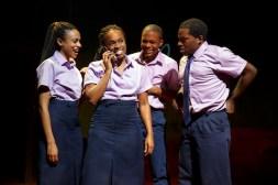 Nicolette Robinson, Kristolyn Lloyd, Jamar Williams, Tyrone Davis Jr in Invisible Thread