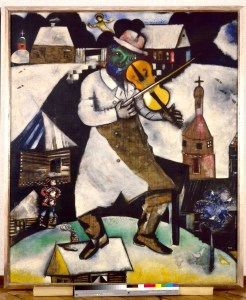 Marc Chagall's The Fiddler