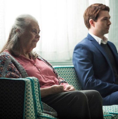 Marjorie Prime, Off Broadway, with Lois Smith and Noah Bean