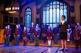 School of Rock 3 Sierra Boggess and Children's Ensemble