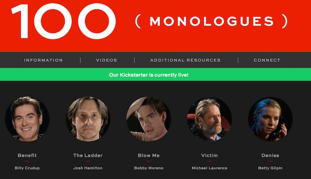 100Monologueswebsite