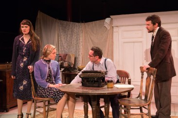Natalie Pavalek as Anna, Erin Biernard as Yelena, Brian J. Carter as Mikhail and Maury Miller as Gigory.