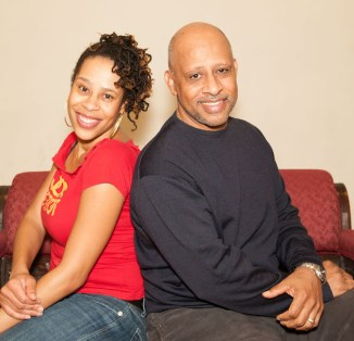 Skeleton Crew: Playwright Dominique Morisseau and director Ruben Santiago-Hudson