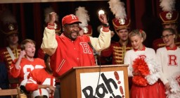 Wendell Pierce as the Coach in Greasae