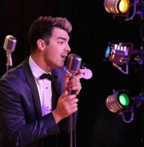 Joe Jonas as Johnny Casino in Grease