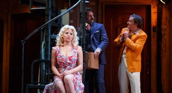 Megan Hilty, David Furr, Jeremy Shamos
