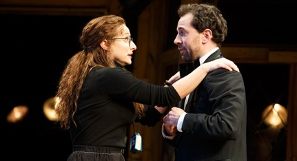 Tracee Chimo and Rob McClure