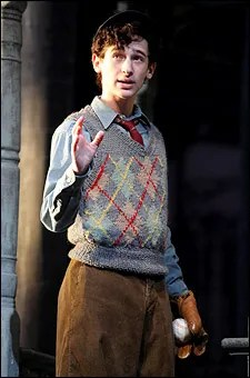 Noah Robbins as Eugene Morris Jerome in Neil Simon's Brighton Beach Memoirs, 2009