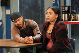 Jason Dirden and Nikiya Mathis in Skeleton Crew