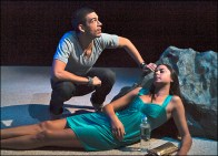 Bobby Moreno and Amelia Jean Alvarez in South Beach Rapture